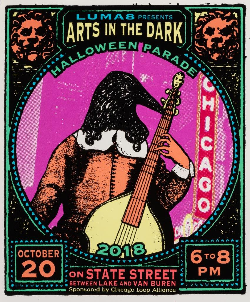Arts in the Dark Official Poster 2018 smaller